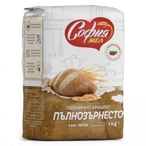 БРАШНО СОФИЯМЯЛ ПЪЛНОЗЪРНЕСТО 1КГ