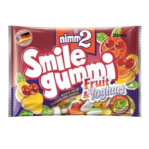 ЖИЛИБОНИ SMILE GUMMI FRUIT YOGHURT