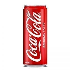 Кока Кола, кен, 330мл