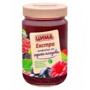 КОНФИТЮР ГОРСКИ ПЛОД ЦИМА 360Г