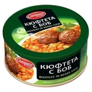 КЮФТЕТА С БОБ КОМПАС 300ГР