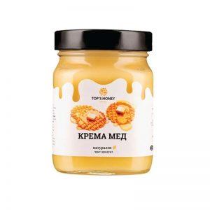 МЕД ГОРСКИ КРЕМА TOPS HONEY 450ГР