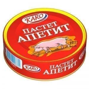 ПАСТЕТ АПЕТИТ КАРО 180ГР