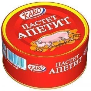 ПАСТЕТ АПЕТИТ КАРО 300