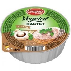 ПАСТЕТ ВЕГЕТАЛ С ГЪБИ 125ГР