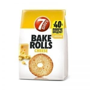 BAKE ROLLS 7 DAYS СИРЕНЕ 112ГР