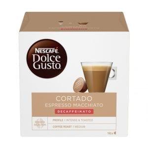 DOLCE GUSTO CORTADO DECAFFEINATO 16БР