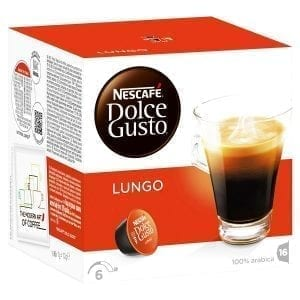 DOLCE GUSTO LUNGO 16БР