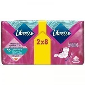 LIBRESSE 2X8 ULTRA LONG+
